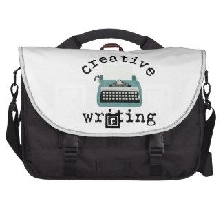 Escritura creativa bolsas para portátil
