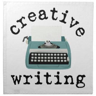 Escritura creativa servilletas