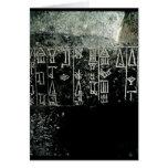 Escritura cuneiforme tarjetón