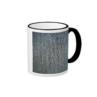 Escritura cuneiforme taza de café