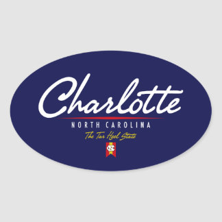Escritura de Charlotte Calcomanías De Ovales
