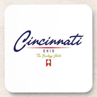 Escritura de Cincinnati Posavasos
