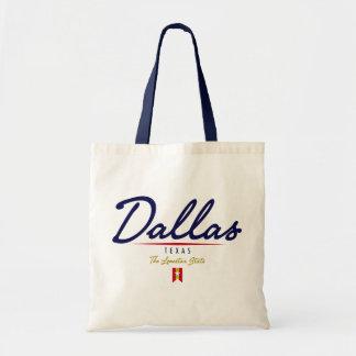 Escritura de Dallas Bolsa De Mano