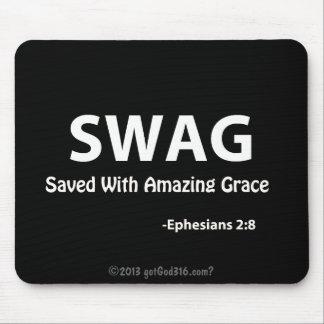 Escritura de gotGod316.com del SWAG Mouse Pad
