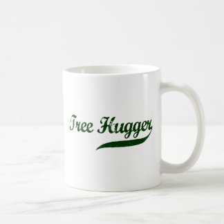 Escritura de Hugger del árbol Taza De Café