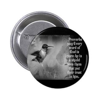 ESCRITURA de la BIBLIA del 30:5 de los proverbios  Pins