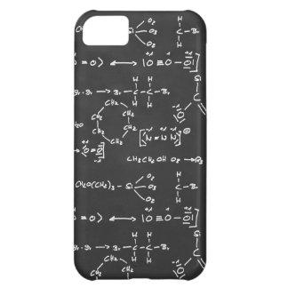Escritura de la fórmula química funda para iPhone 5C