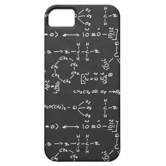 Escritura de la fórmula química funda para iPhone SE/5/5s