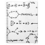 Escritura de la fórmula química libretas