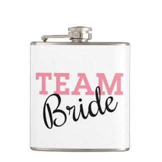 Escritura de la novia del equipo petaca