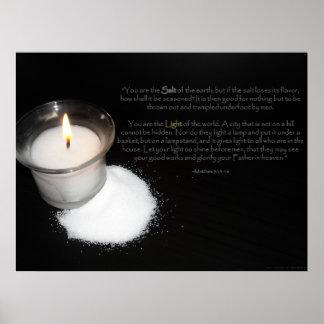 Escritura de la sal y de la luz poster