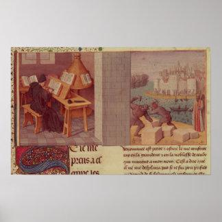 Escritura de Livy y la fundación de Roma Impresiones