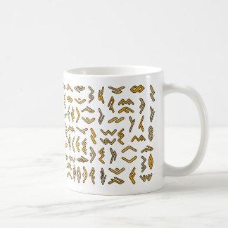 Escritura de Lontara Tazas De Café