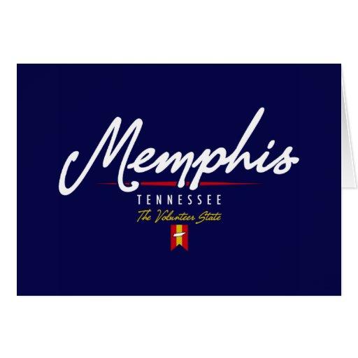 Escritura de Memphis Felicitacion