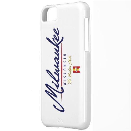 Escritura de Milwaukee Funda Para iPhone 5C