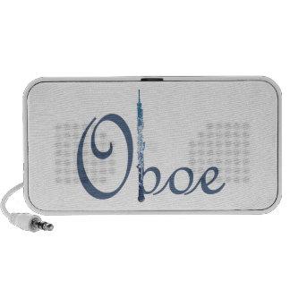 Escritura de Oboe Altavoz De Viaje