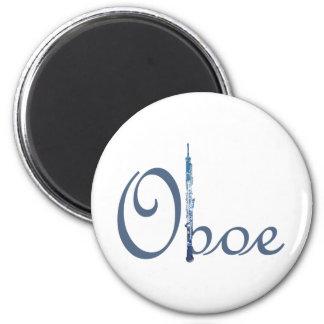 Escritura de Oboe Imán De Nevera
