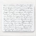Escritura de París del francés Tapetes De Ratones