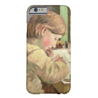 Escritura de Paul, c.1894 (aceite en lona) Funda Barely There iPhone 6