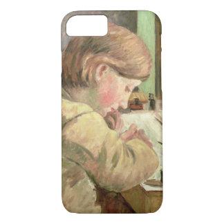 Escritura de Paul, c.1894 (aceite en lona) Funda iPhone 7