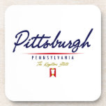 Escritura de Pittsburgh Posavasos
