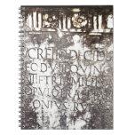 Escritura de Pompeya Cuaderno