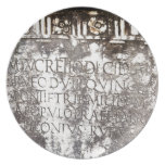 Escritura de Pompeya Platos
