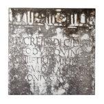 Escritura de Pompeya Teja Ceramica