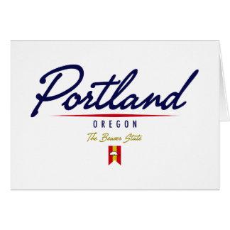 Escritura de Portland Felicitaciones