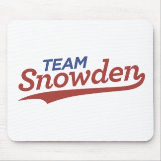 Escritura de Snowden del equipo Tapete De Raton