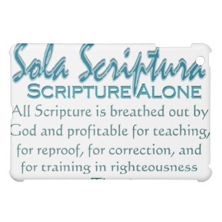 Escritura de Sola Scriptura~ solamente