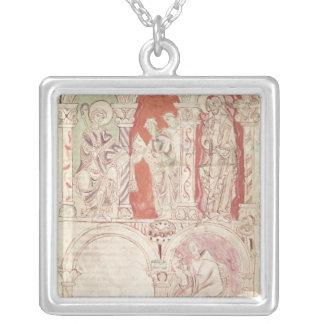 Escritura de St. John Cassian y ofrecimiento de lo Colgante Cuadrado
