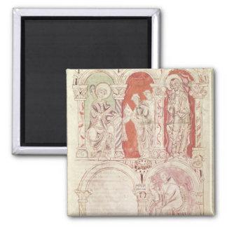 Escritura de St. John Cassian y ofrecimiento de lo Imán Cuadrado