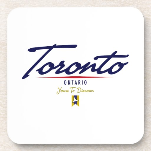 Escritura de Toronto Posavasos De Bebida