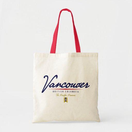 Escritura de Vancouver Bolsas De Mano