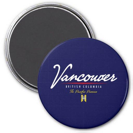 Escritura de Vancouver Imanes De Nevera
