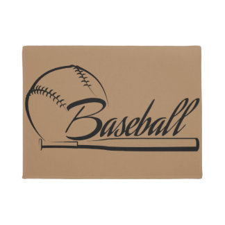 Escritura del béisbol felpudo