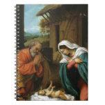 Escritura del cristianismo de Jesús del bebé de Cr Libreta