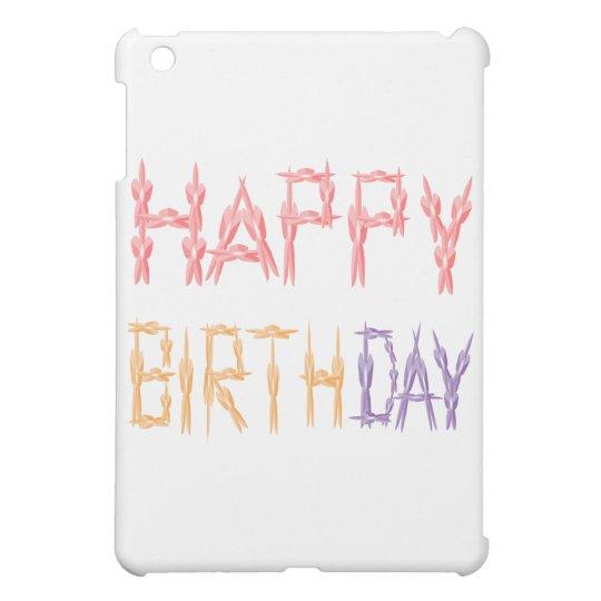 Escritura del feliz cumpleaños - arte del
