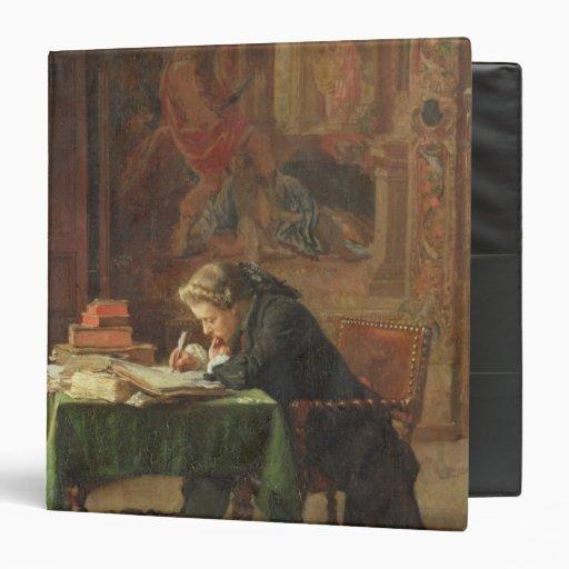 """Escritura del hombre joven, 1852 carpeta 1 1/2"""""""