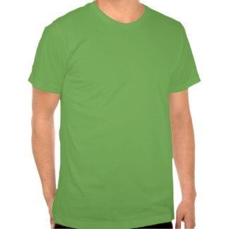 Escritura en Irlanda en colores múltiples Camisetas