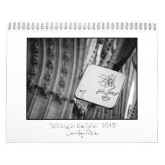 Escritura en la pared - calendario 2014
