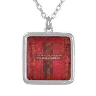 Escritura inspirada del 4:13 de los filipenses grimpolas