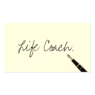 Escritura libre de la escritura del coche de la tarjetas de visita