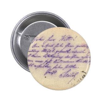 Escritura misteriosa - la tarjeta postal envió 189 pin