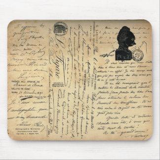 Escritura Mousepad del vintage Alfombrillas De Ratones