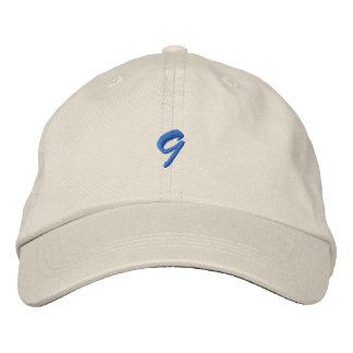 Escritura-Número 9 Gorra De Beisbol