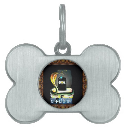 Escritura sagrada de la SERPIENTE de SHIVA LINGA - Placas Mascota
