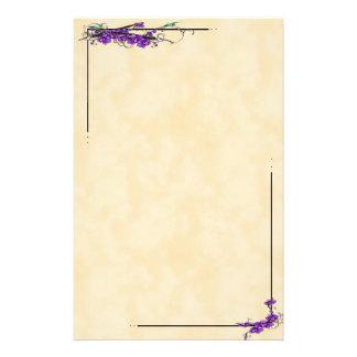 Escrituras de la orquídea papeleria personalizada