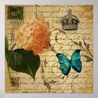 escrituras femeninas de los remolinos de la maripo póster